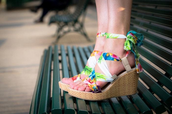 grande remise pour grande vente au rabais site réputé Mode : les chaussures compensées font leur grand retour