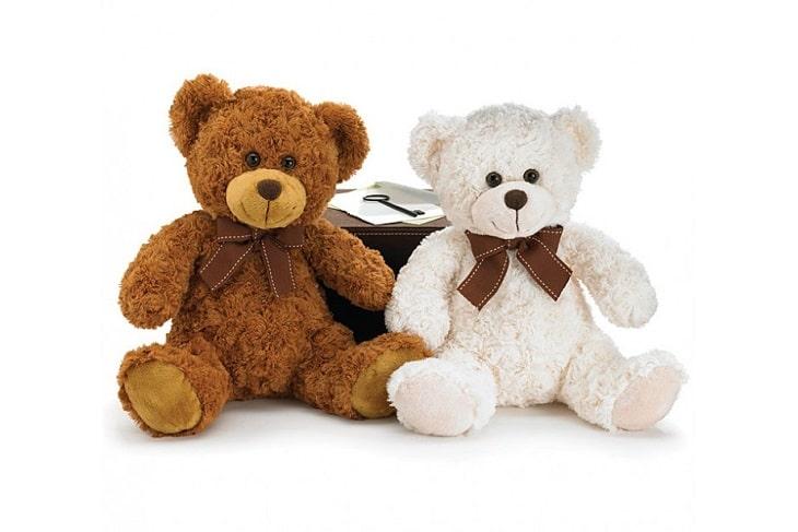 L'ours en peluche plaît aux petits comme aux grands