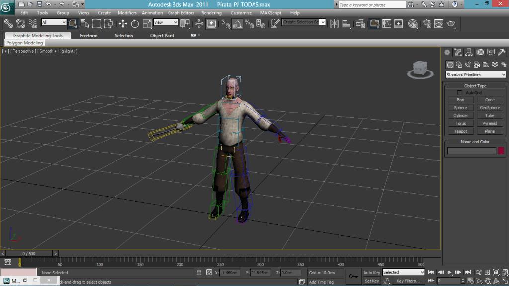 Logiciel graphisme 3D Studio -1
