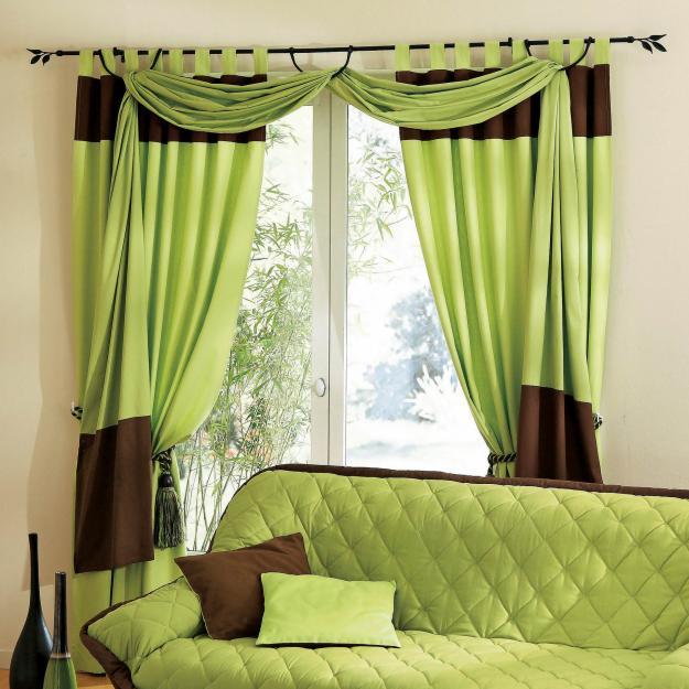 Comment bien choisir ses rideaux - Rideaux decoration interieure salon ...