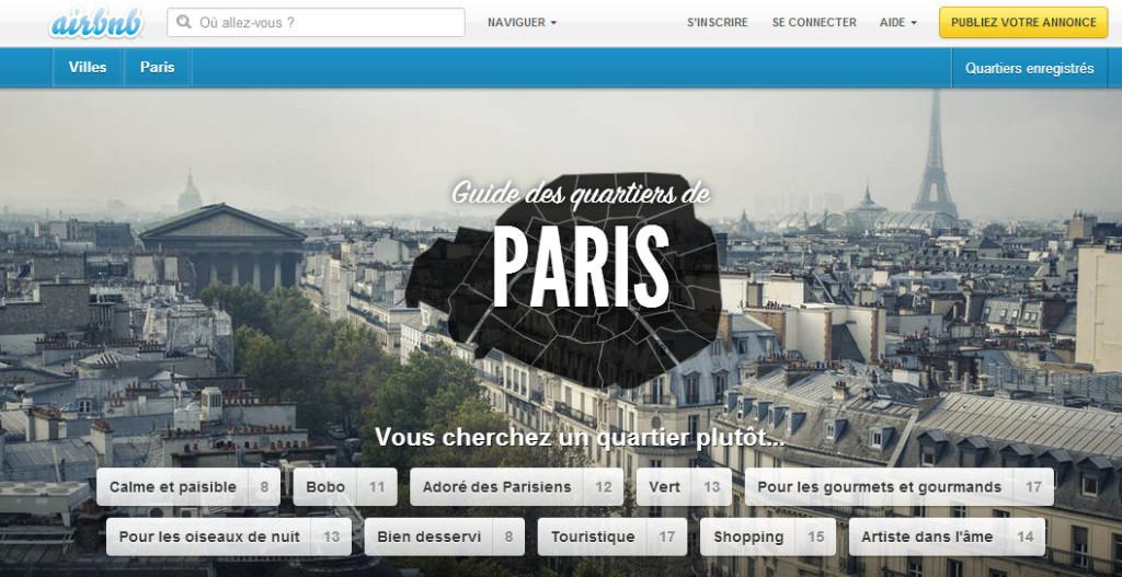 Airbnb, l'hébergement à la carte