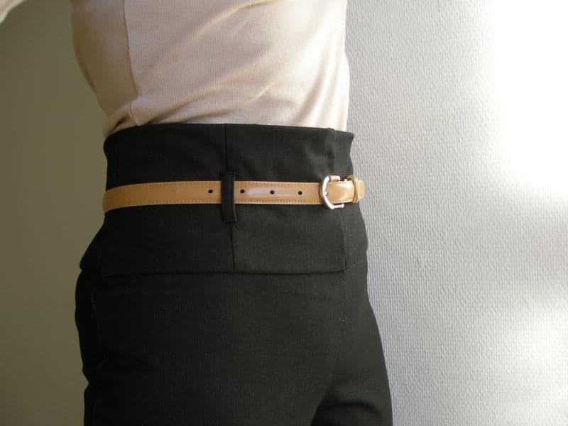 Le pantalon taille haute - haut les fesses !