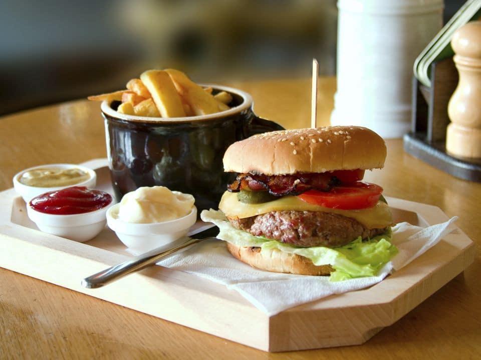 le hamburger bio une gourmandise saine