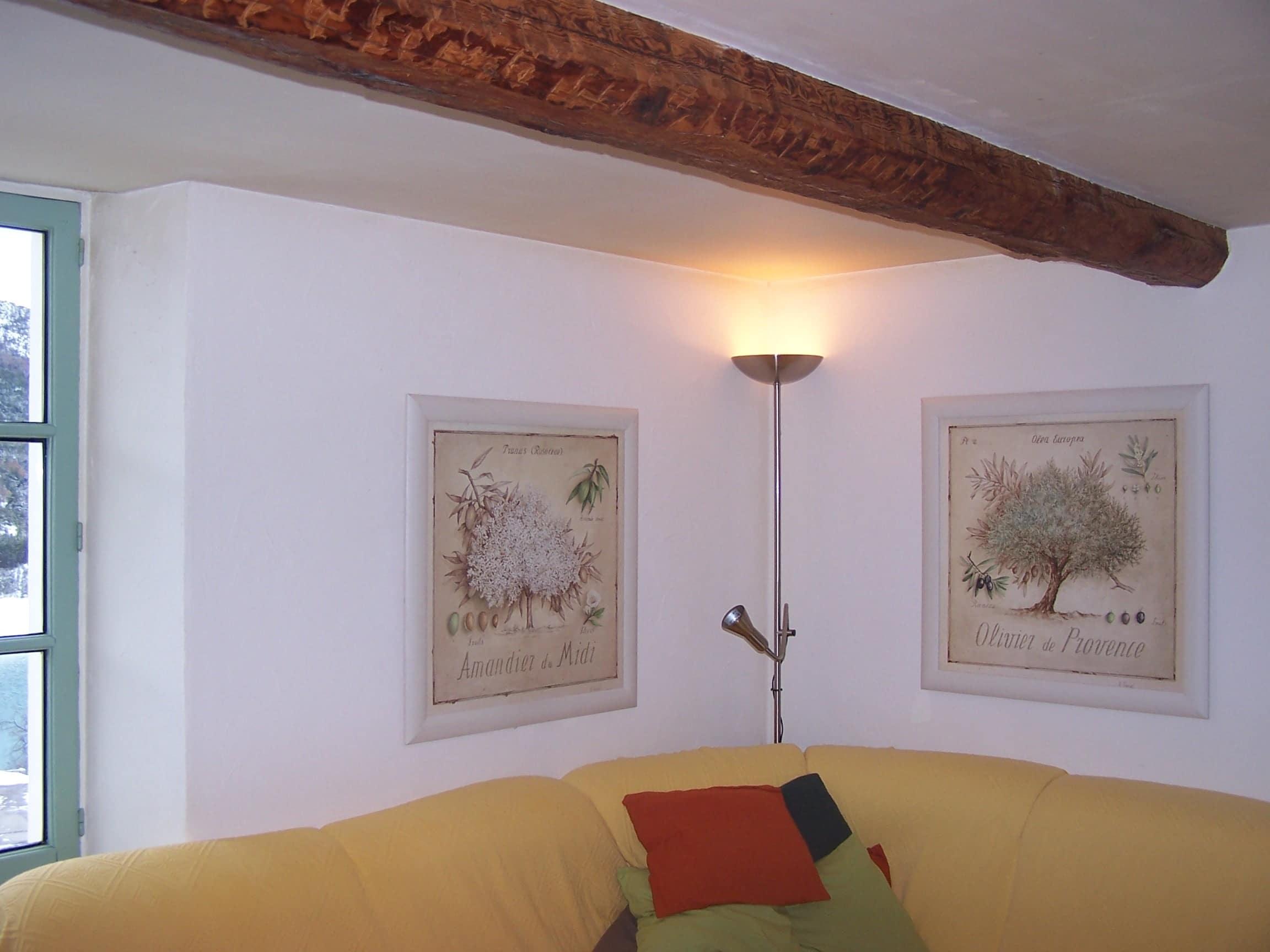Décoration murale ,les tableaux après les rideaux5