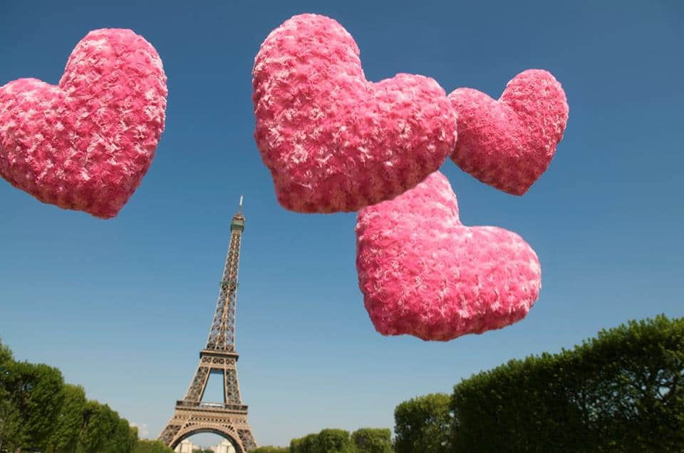 Passer la st valentin à Paris