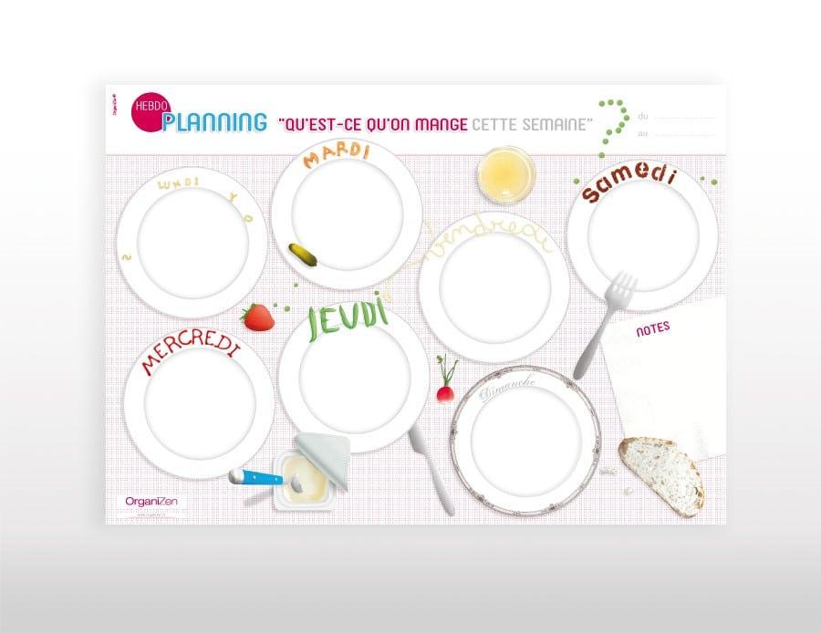 4 tapes essentielles pour organiser vos repas eskimag - Planning repas semaine famille ...