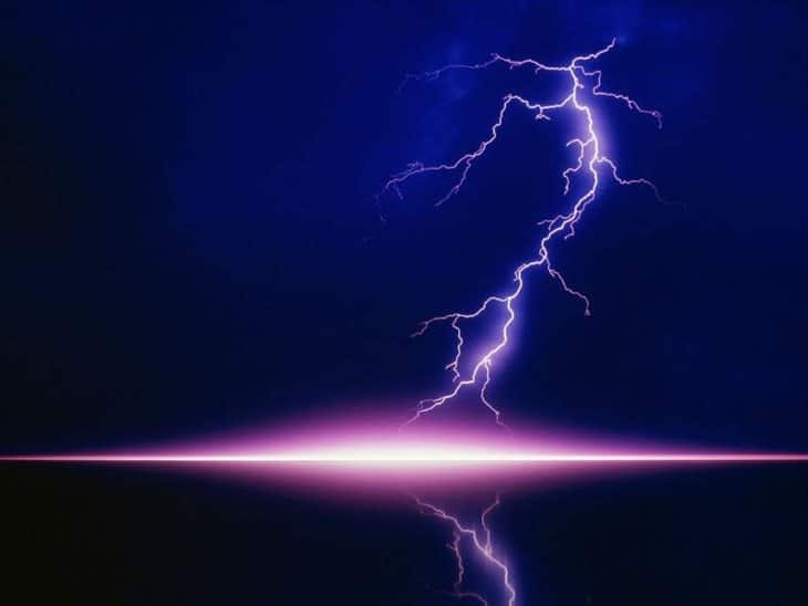 L'électricité d'un éclair