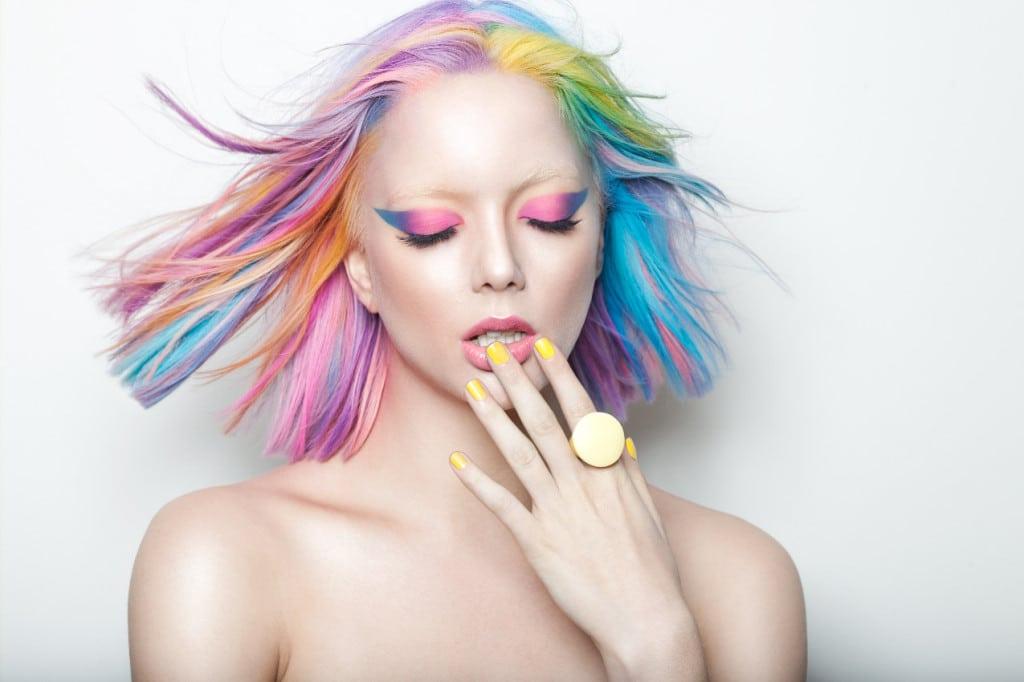 Les rainbow hair ou l'avalanche de couleurs !1