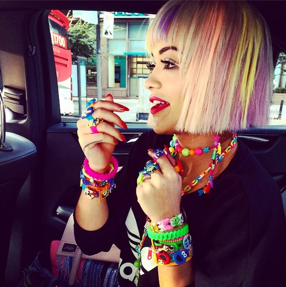 Les rainbow hair ou l'avalanche de couleurs !3