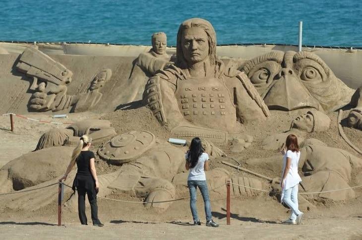 5 choses que vous ignoriez sur la sculpture de sable 2