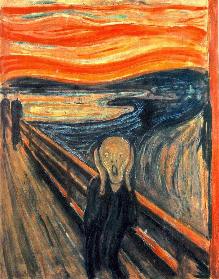 Le Cri d'Edvard Munch un modèle d'art expressionniste 1