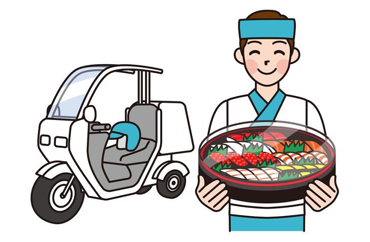 Livraison sushi