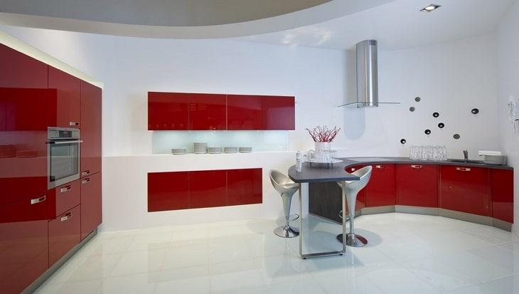 cuisine living rouge