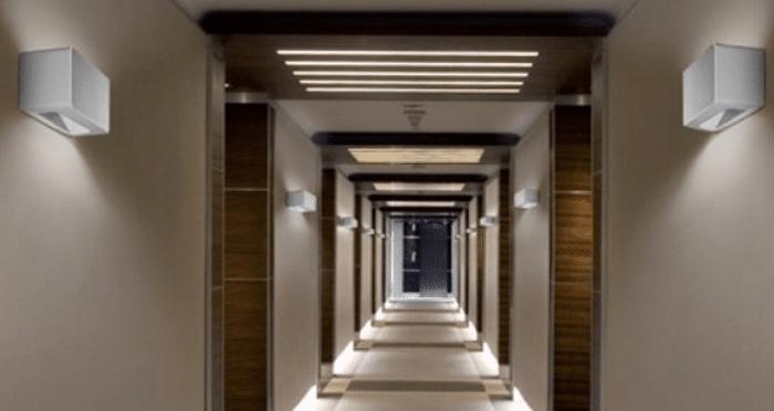 Eclairage couloir par LED