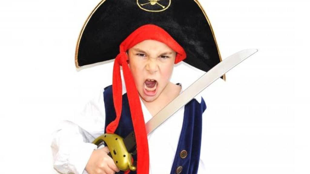 Le déguisement pirate pour mettre l'ambiance dans les goûters d'anniversaire