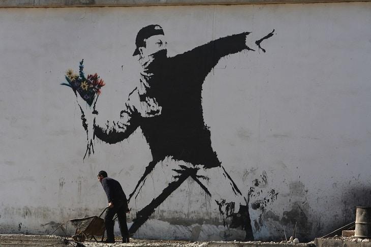 Qui est Banksy, l'artiste anonyme au pochoir 1