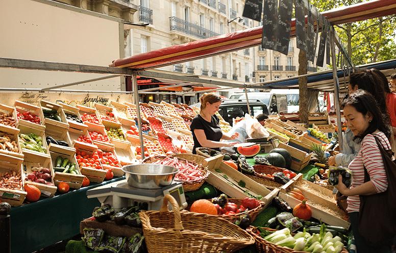 Topo sur les trois marchés bio à Paris