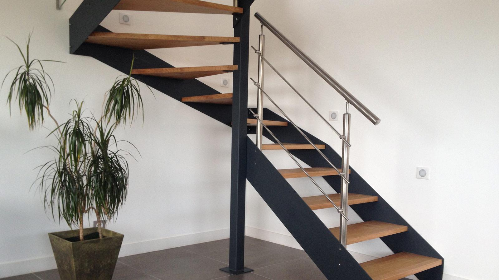 Escalier en kit une solution pratique et conomique - Kit renovation escalier ...