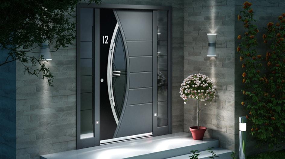 Choisir convenablement les poign es qui vont avec votre porte for Porte entree alu contemporaine