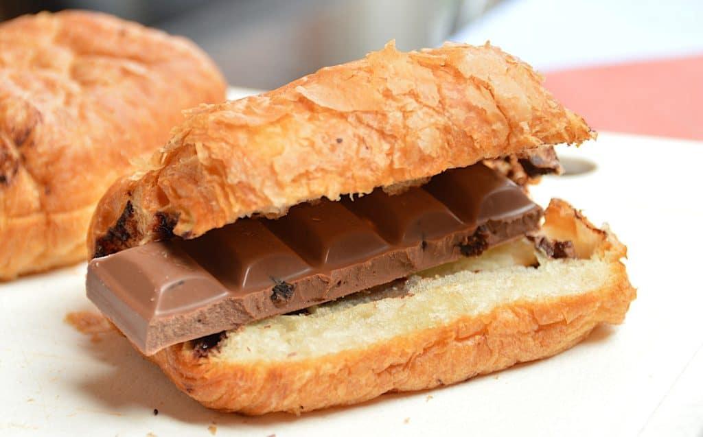 pain au chocolat vrai
