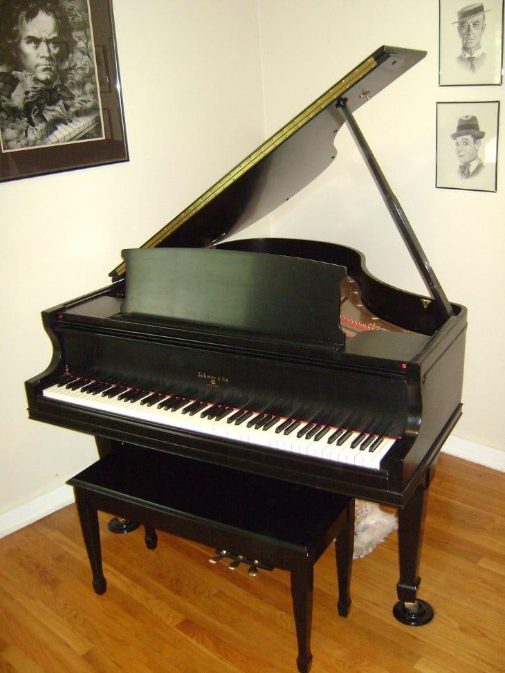 Le piano à queue, le roi des pianos 2