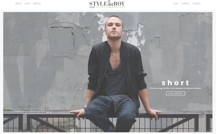 Style dot boy