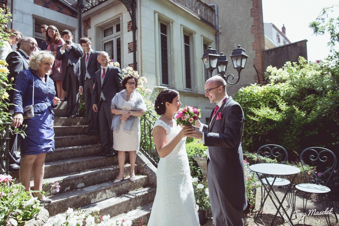 photographe mariage foule