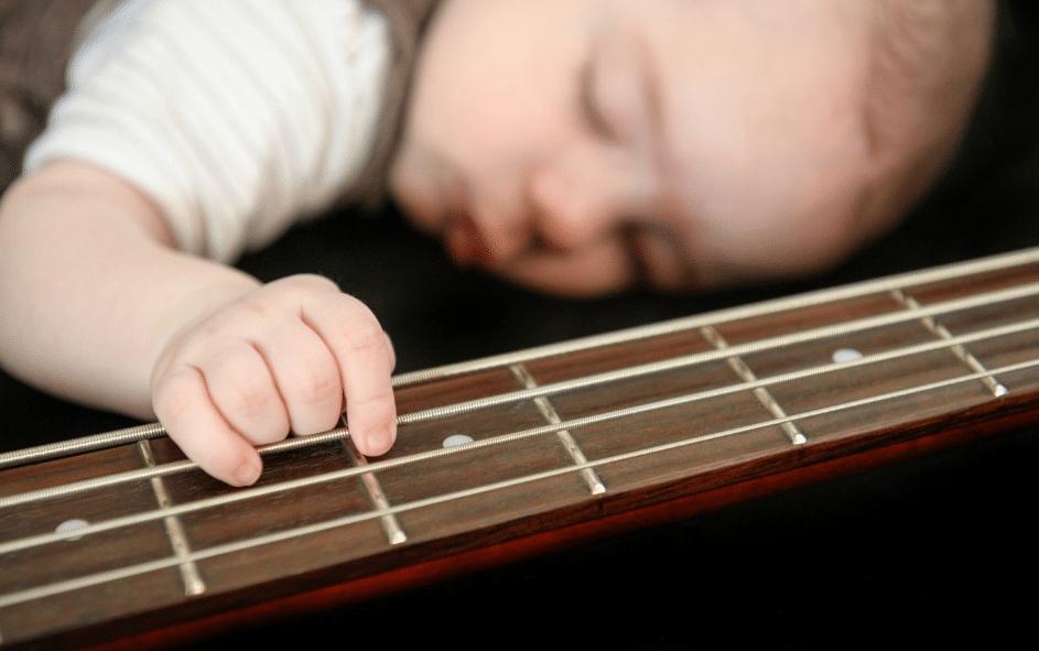 vetements bébé rock