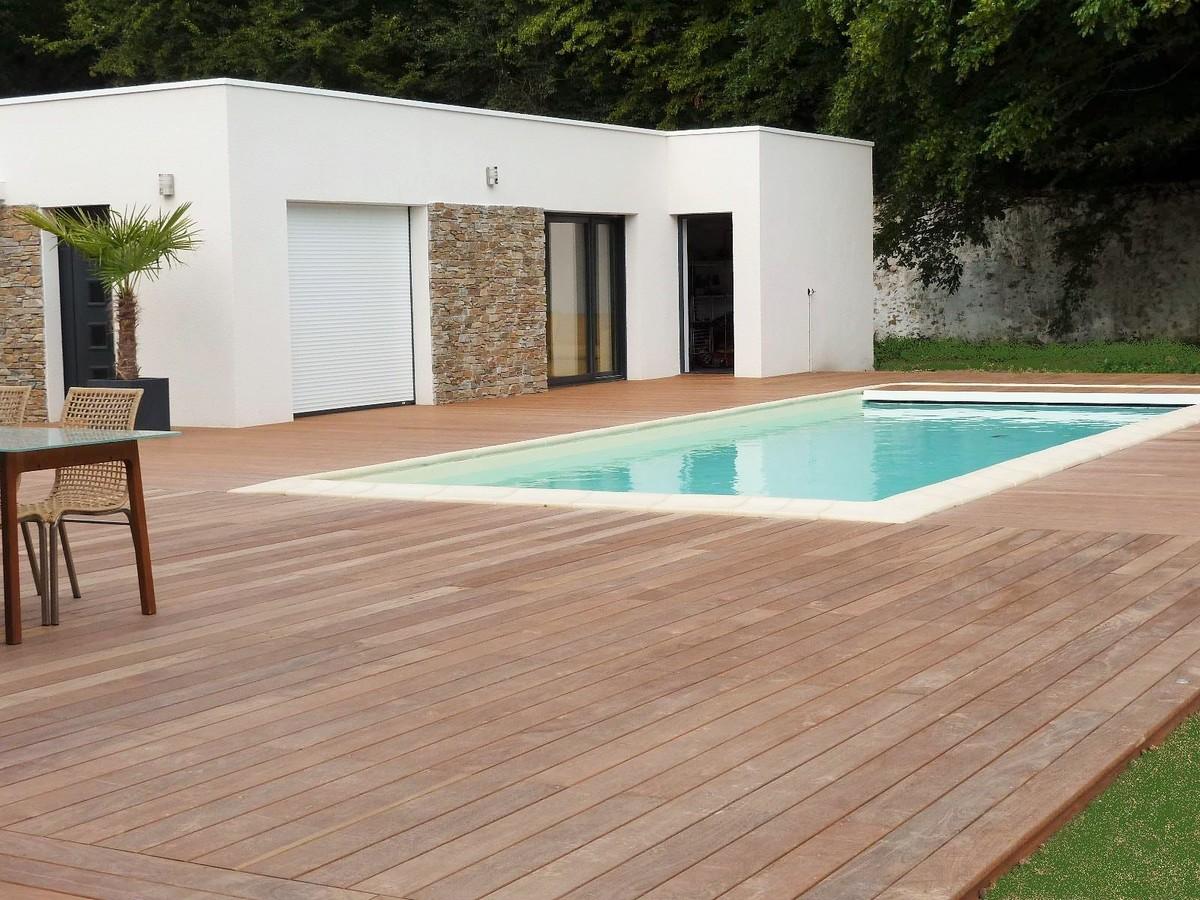 installation d une terrasse en bois. Black Bedroom Furniture Sets. Home Design Ideas