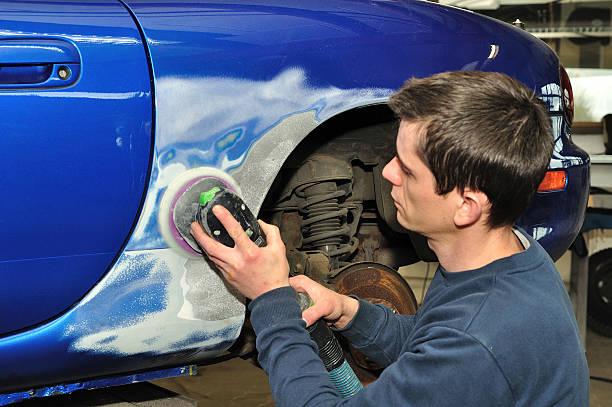 réparer une carrosserie