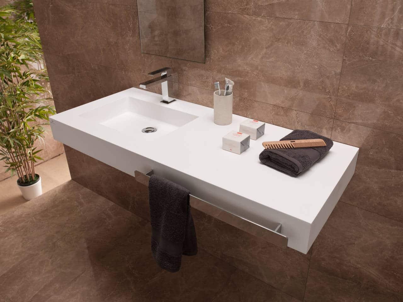 Faire le choix entre un lavabo et une vasque pour votre - Comment installer un lavabo de salle de bain ...
