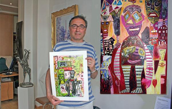 Pascal Robaglia, le galeriste sportif au parcours surprenant