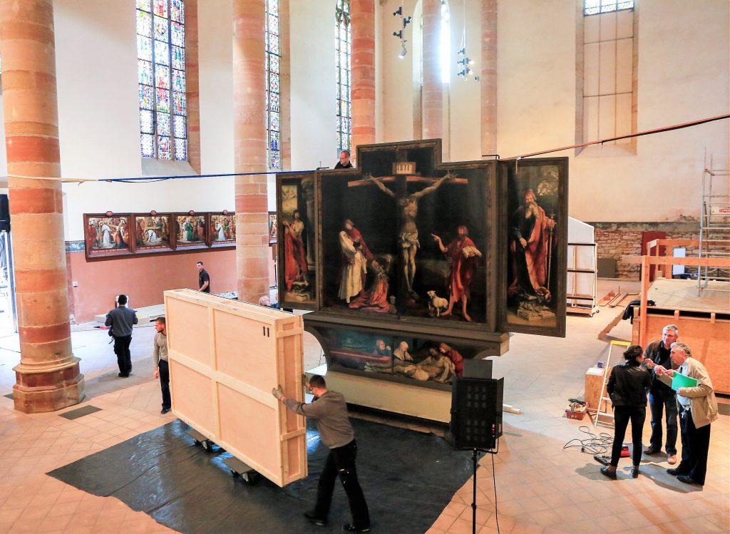 Combien coûte le transport d'une œuvre d'art