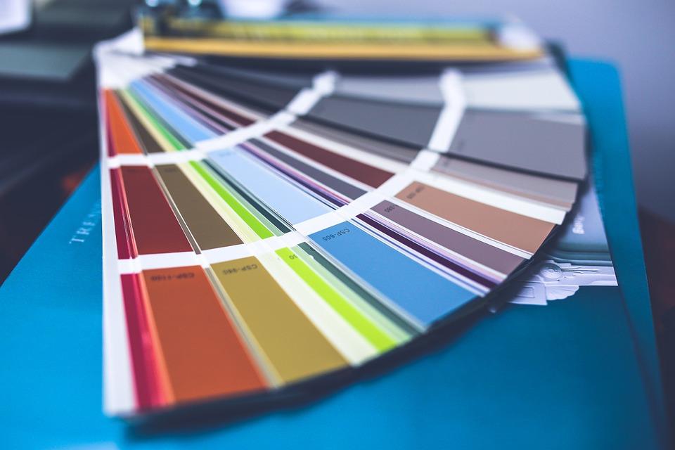 couleurs dans une pièce